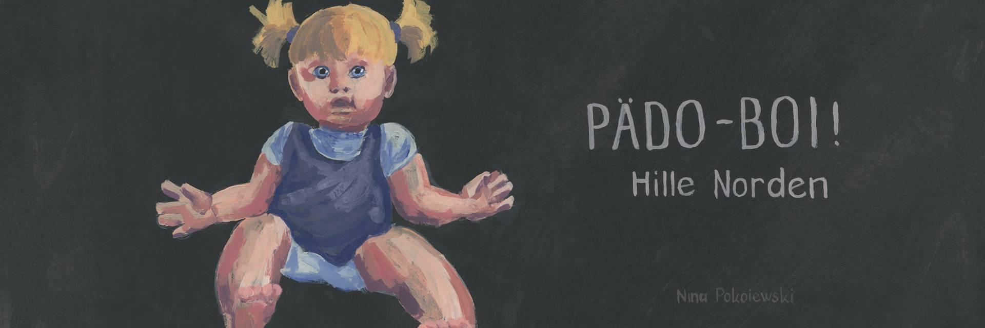 """Ilustration zu """"Pädo-Boi"""", gestaltet von Nina Pokoieski"""