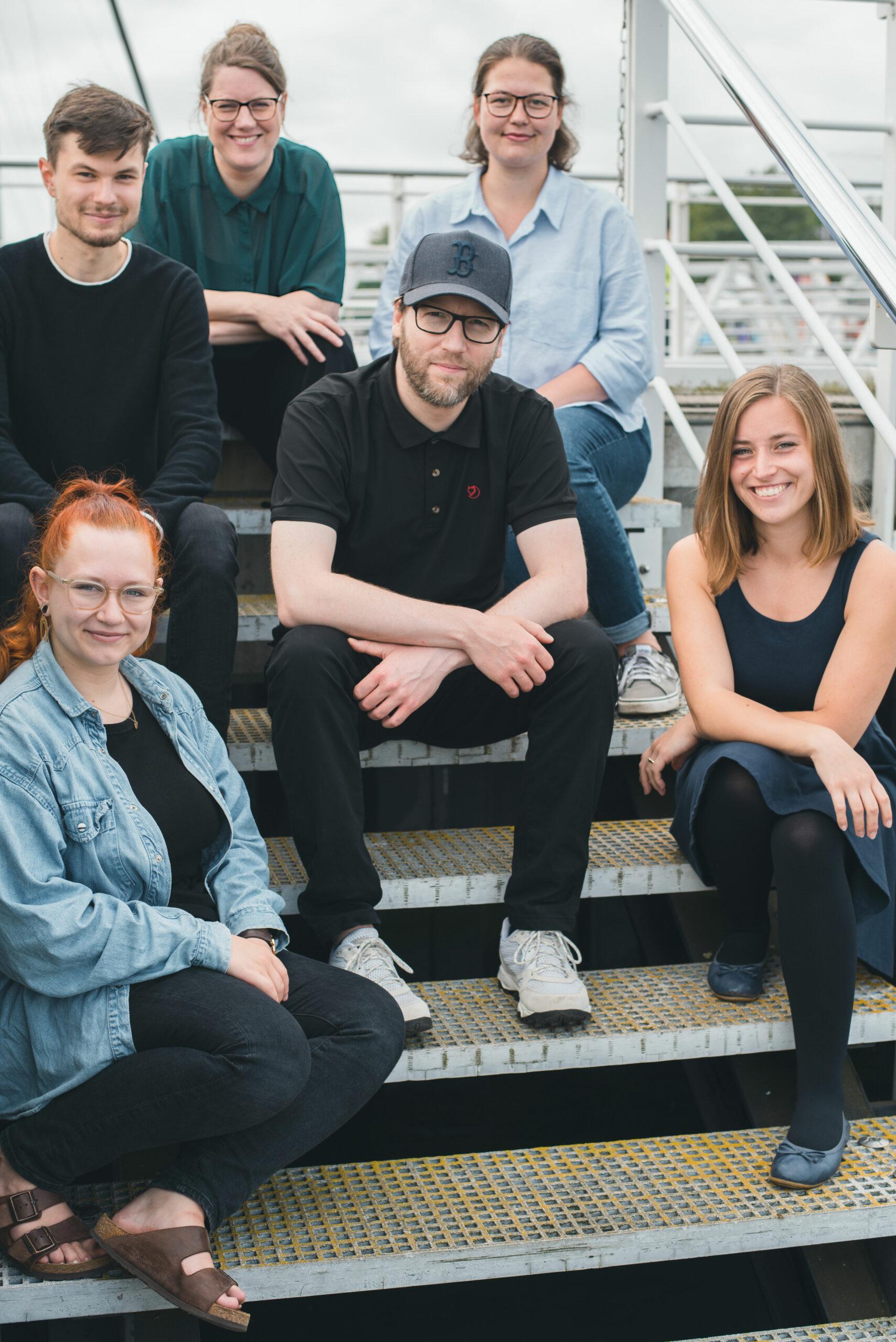 Gruppenbild des Teams des Drehbuchpreises Schleswig-Holstein 2021