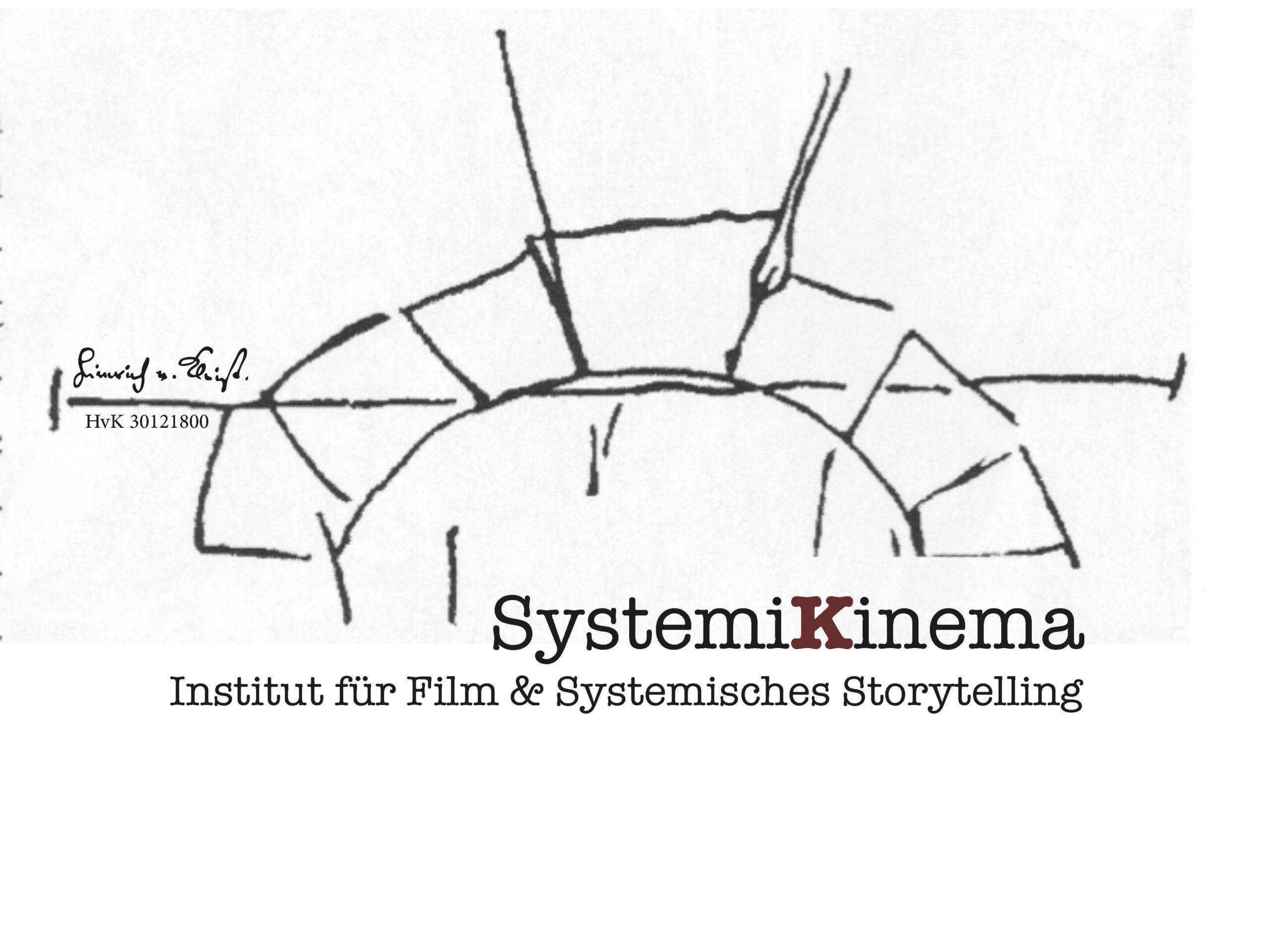 Das Logo von SystemiKinema, dem Institut für Film und systematisches Storytelling